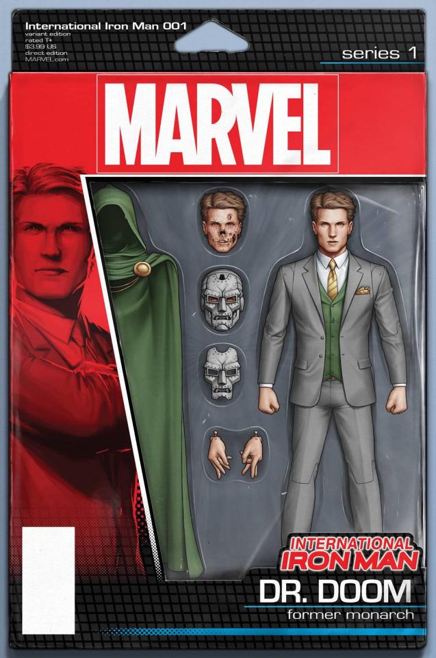 International Iron Man #1 (Action Figure Cover)