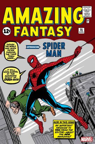 Amazing Fantasy #15 (Facsimile Edition)