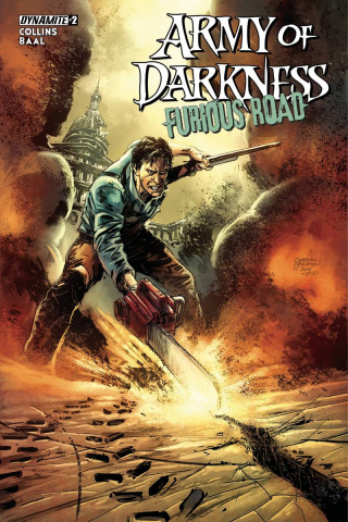 Army of Darkness: Furious Road #2 (Hardman Cover)