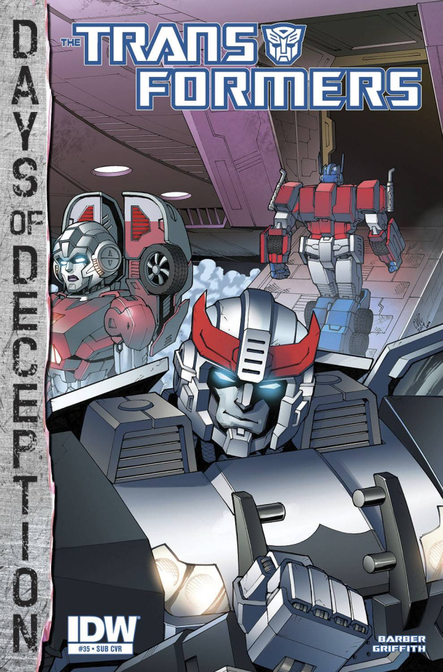 The Transformers #35 (Subscription Cover)