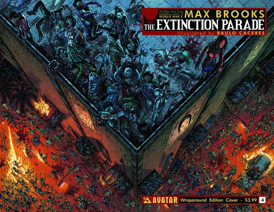The Extinction Parade #4 (Wrap Cover)