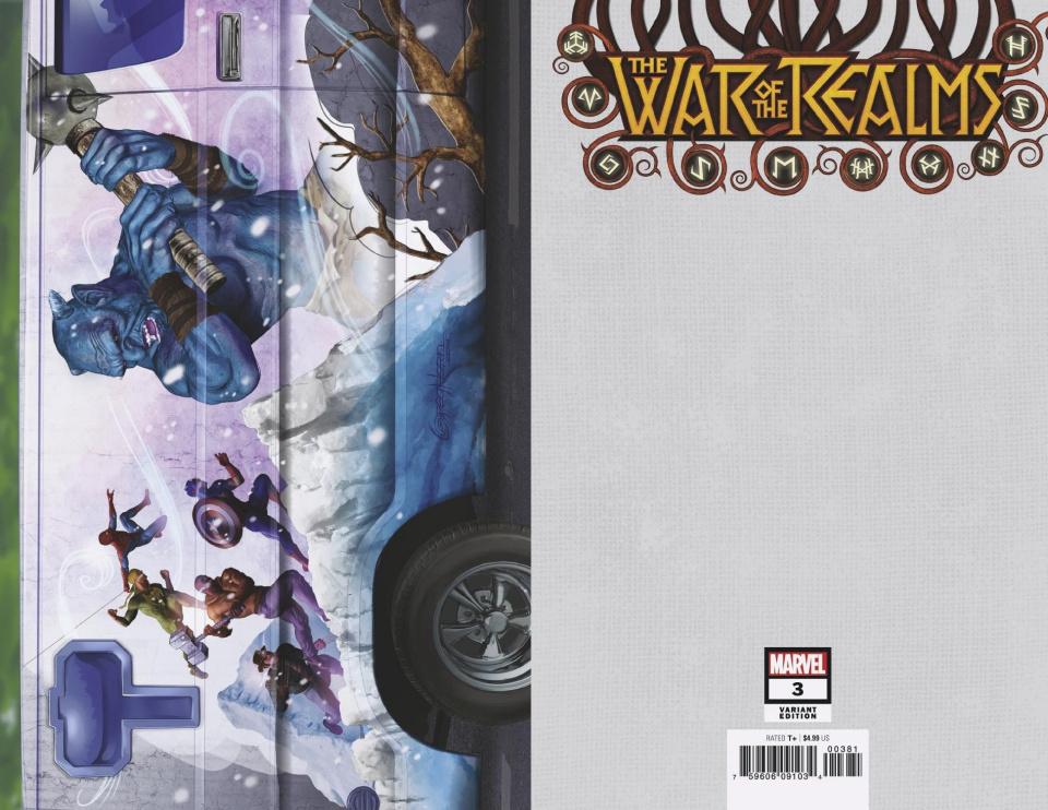War of Realms #3 (Horn Van Cover)