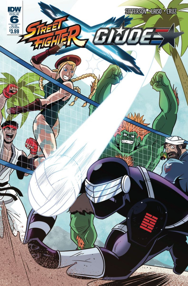 Street Fighter X G.I. Joe #6 (Subscription Cover)