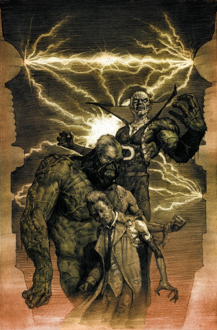Justice League Dark #35 (Monsters Cover)