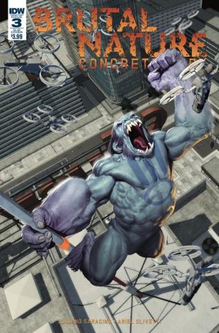 Brutal Nature: Concrete Fury #3 (Subscription Cover)
