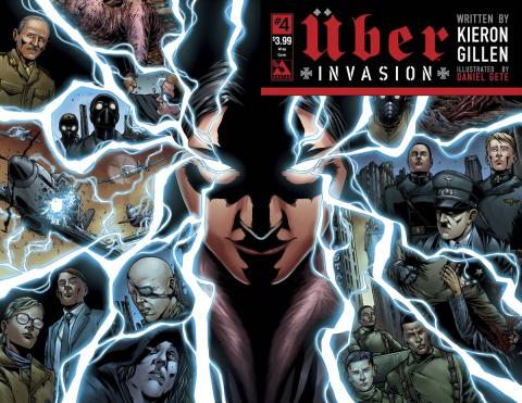Über: Invasion #4 (Wrap Cover)