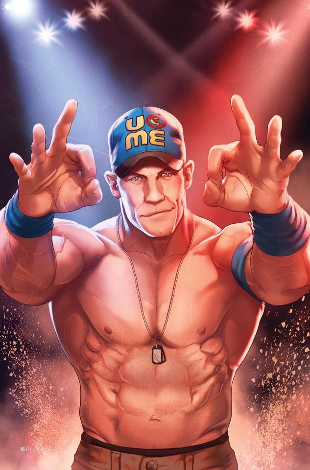 WWE #5 (15 Copy Campbell Cena Cover)