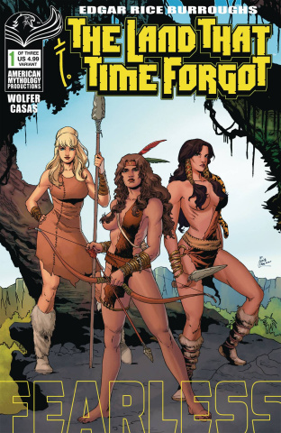 The Land That Time Forgot: Fearless #1 (Wolfer Cover)