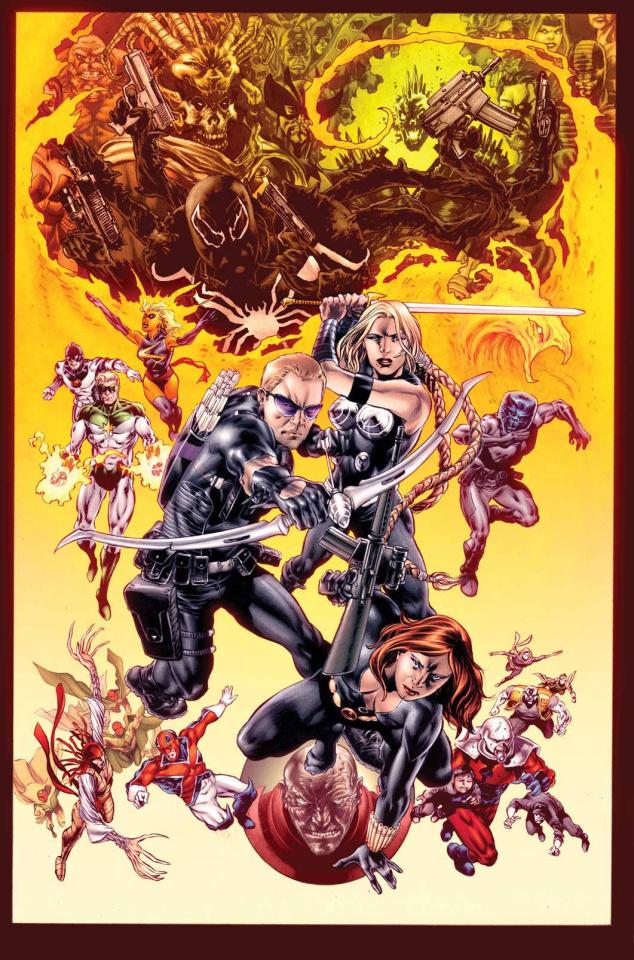 Secret Avengers #37 (Perkins Cover)