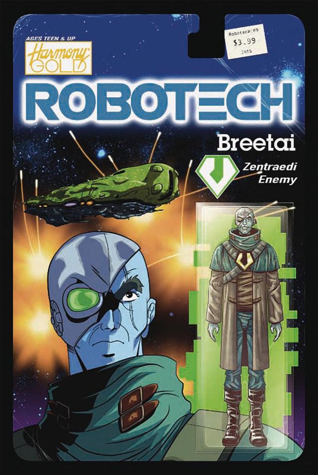 Robotech #9 (Action Figure Cover)