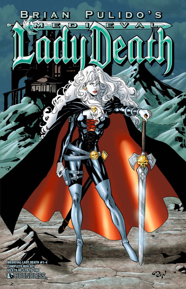 Medieval Lady Death #1-4 (Complete Box Set)