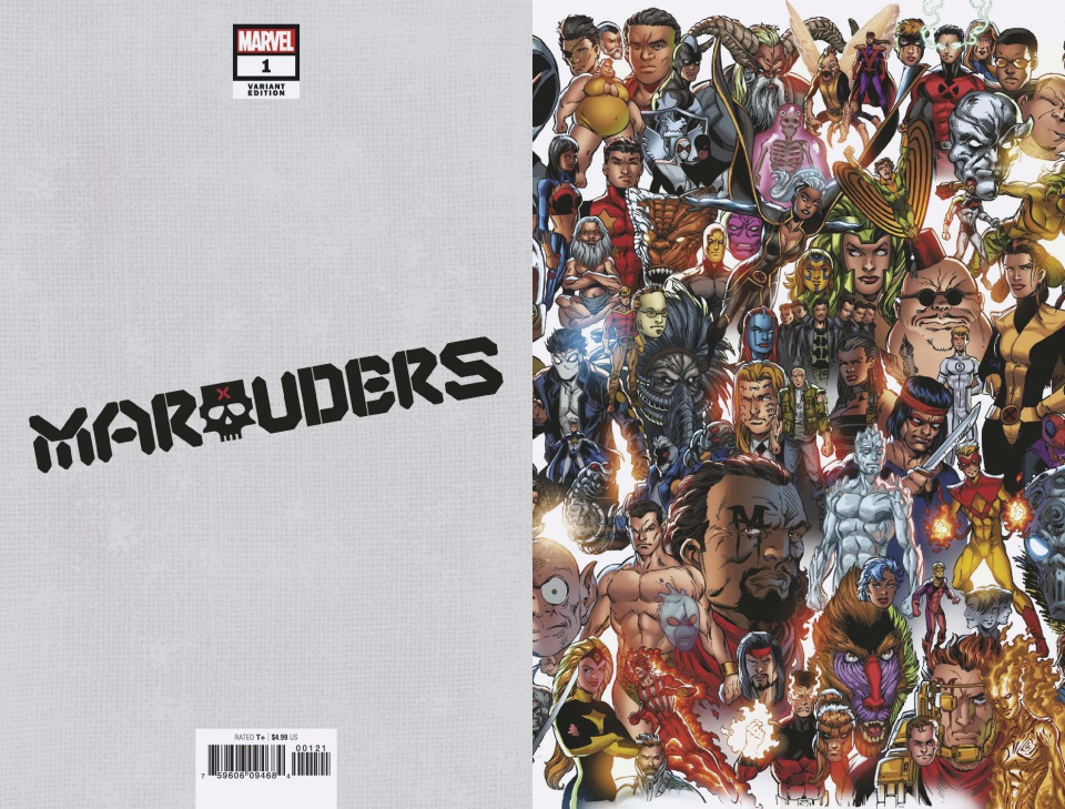 Marauders #1 (Bagley Every Mutant Ever Cover)