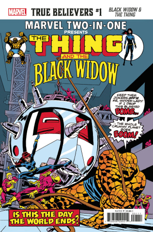 Black Widow & The Thing #1 (True Believers)