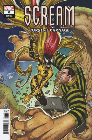 Scream: Curse of Carnage #6 (Bagley Cover)