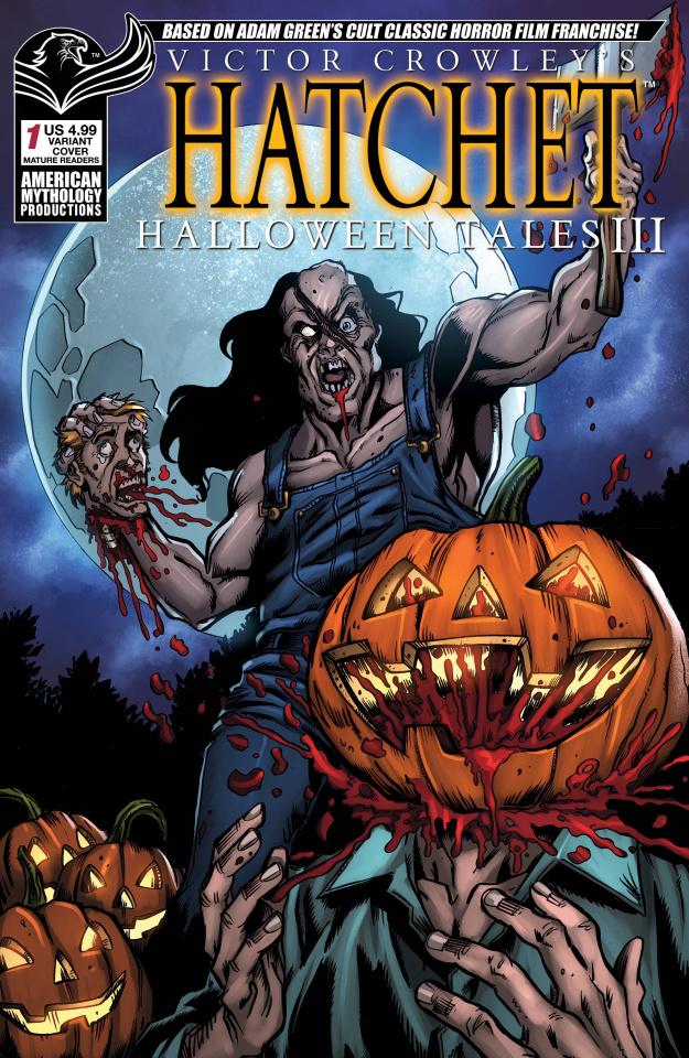 Hatchet: Halloween Tales III #1 (Lost Your Head Cover)