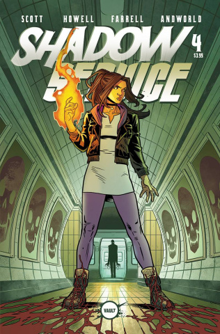 Shadow Service #4 (Isaacs Cover)