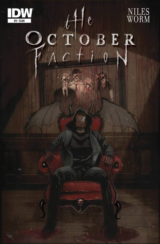 The October Faction #3
