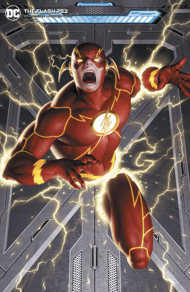 The Flash #752 (Jungggeon Yoon Cover)