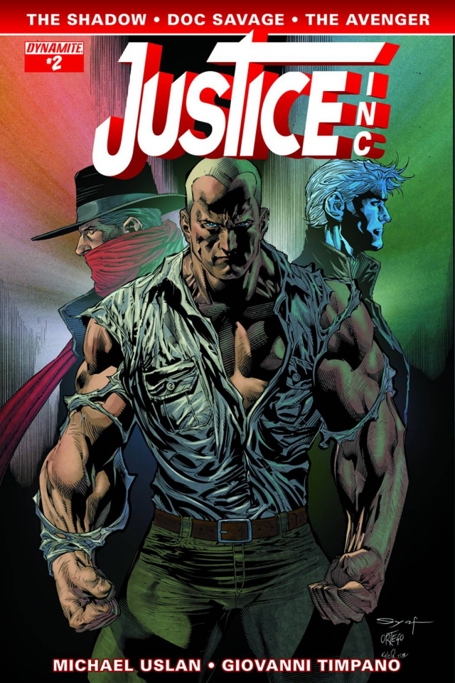 Justice, Inc. #2 (Syaf Cover)