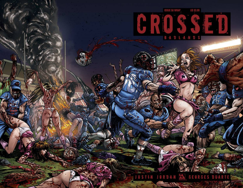 Crossed: Badlands #58 (Wrap Cover)