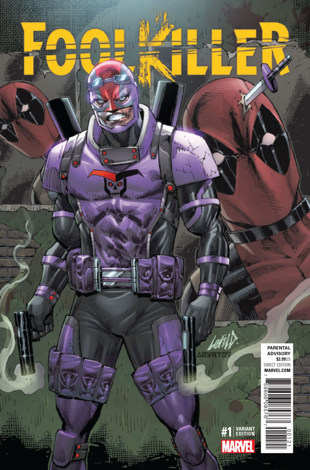 Foolkiller #1 (Liefeld Cover)