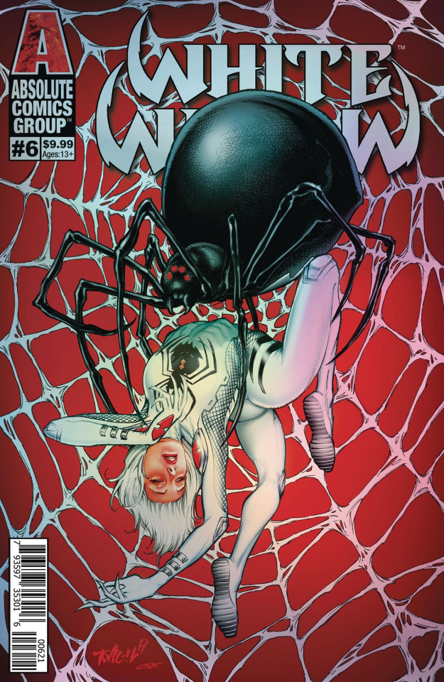 White Widow #6 (Tim Vigil Holo Metallic Ink Cover)