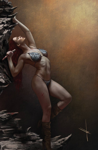 The Invincible Red Sonja #5 (30 Copy Cohen Virgin Cover)