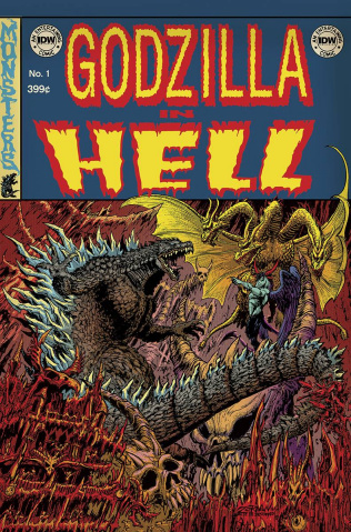 Godzilla in Hell #1 (EC Subscription Cover)