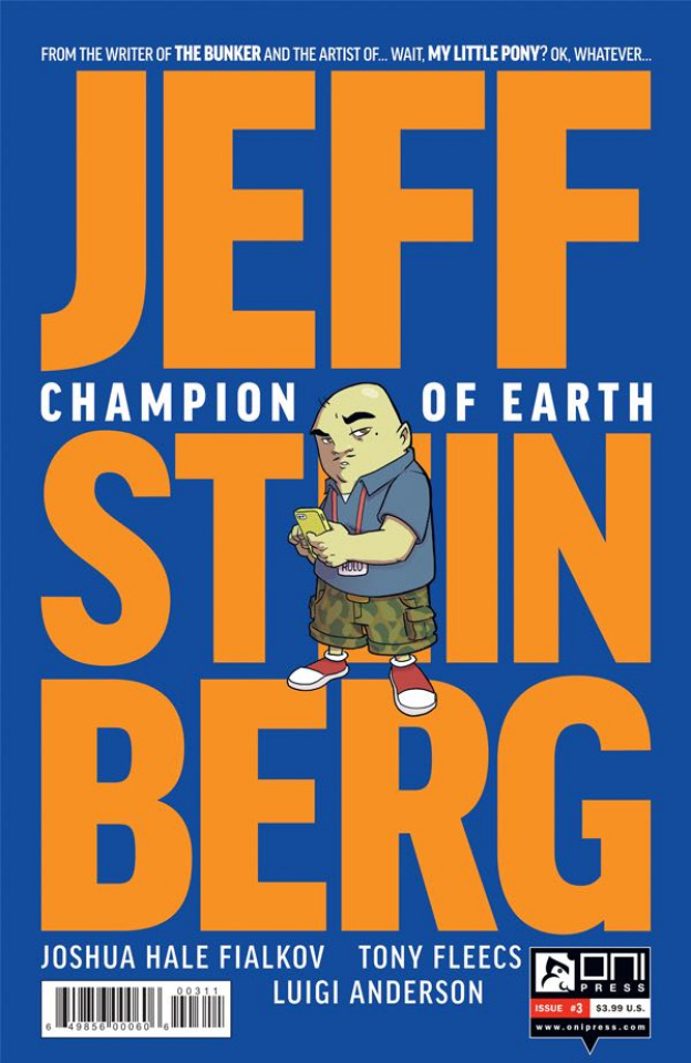 Jeff Steinberg: Champion of Earth #3