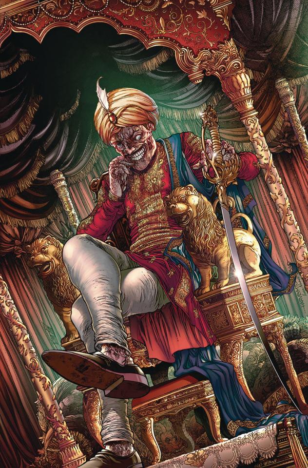 Van Helsing: The Sword of Heaven #4 (Tolibao Cover)
