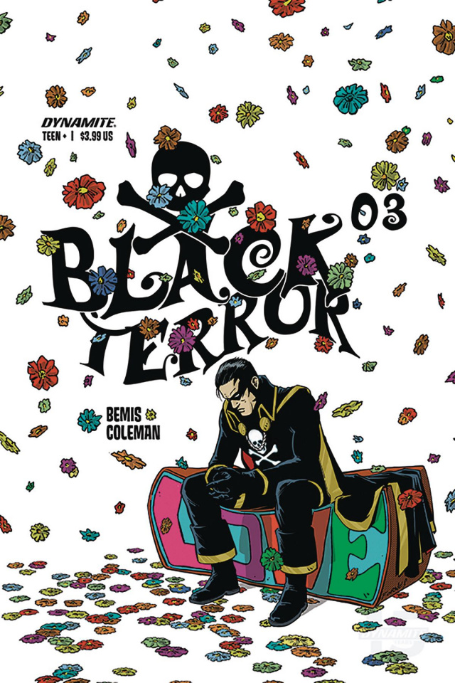 Black Terror #3 (Fornes Cover)