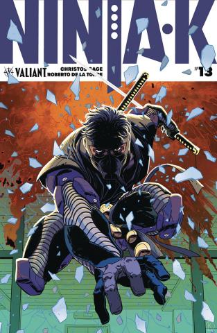 Ninja-K #13 (Kano Cover)