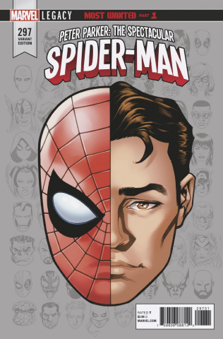 Peter Parker: The Spectacular Spider-Man #297 (Legacy Headshot Cover)