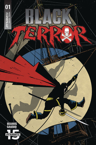Black Terror #1 (Fornes Cover)