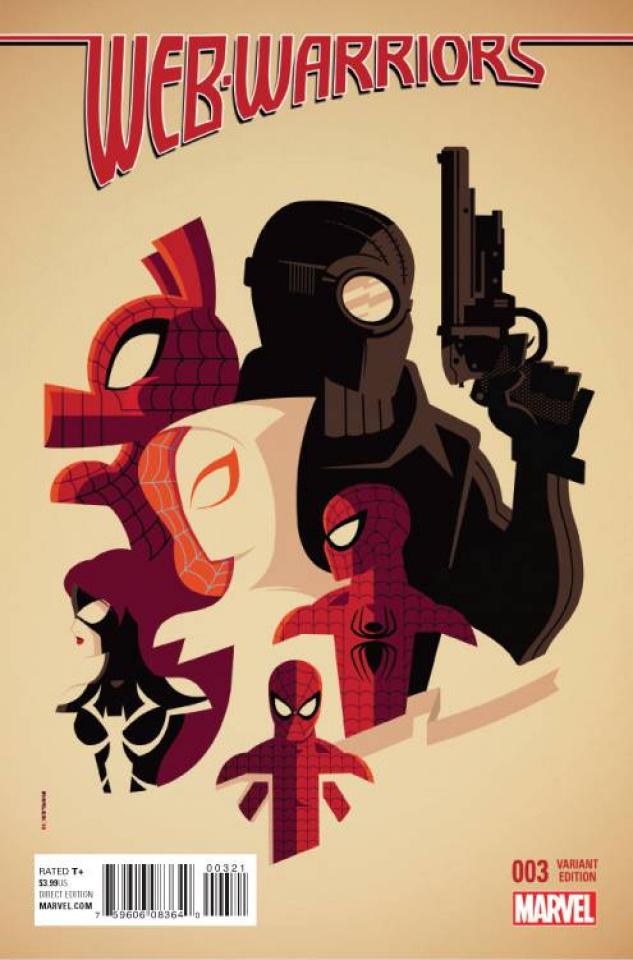 Web Warriors #3 (Whalen Cover)