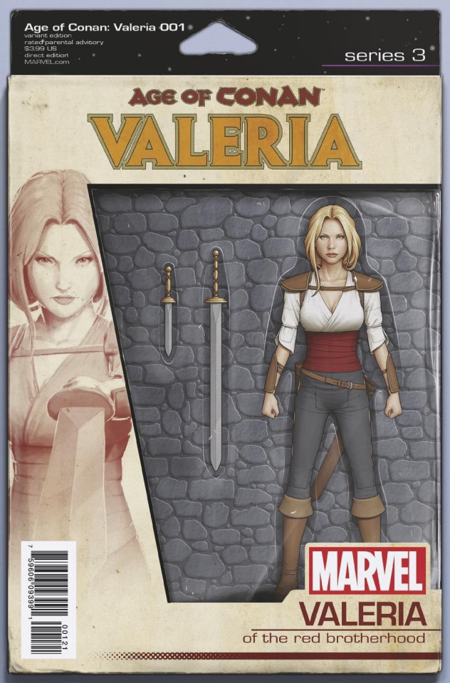 Age of Conan: Valeria #1 (Christopher Action Figure Cover)