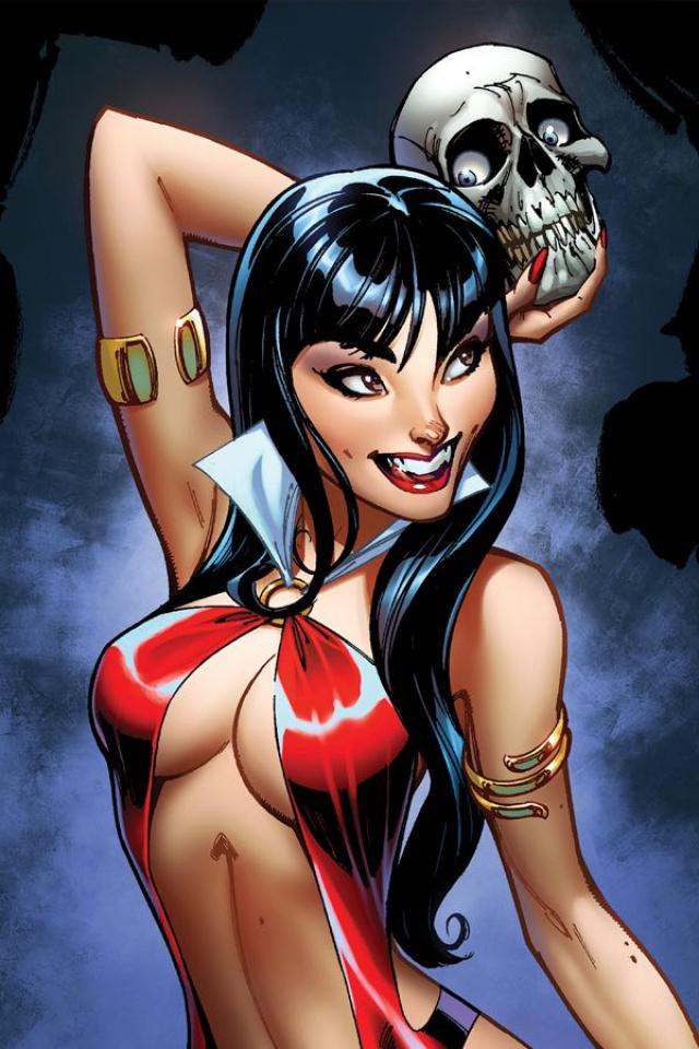 Vampirella #2 (25 Copy Campbell Virgin Sneak Peek Cover)