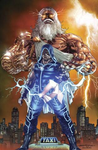 Grimm Fairy Tales: Godstorm - Hercules Payne #3 (Tolibao Cover)