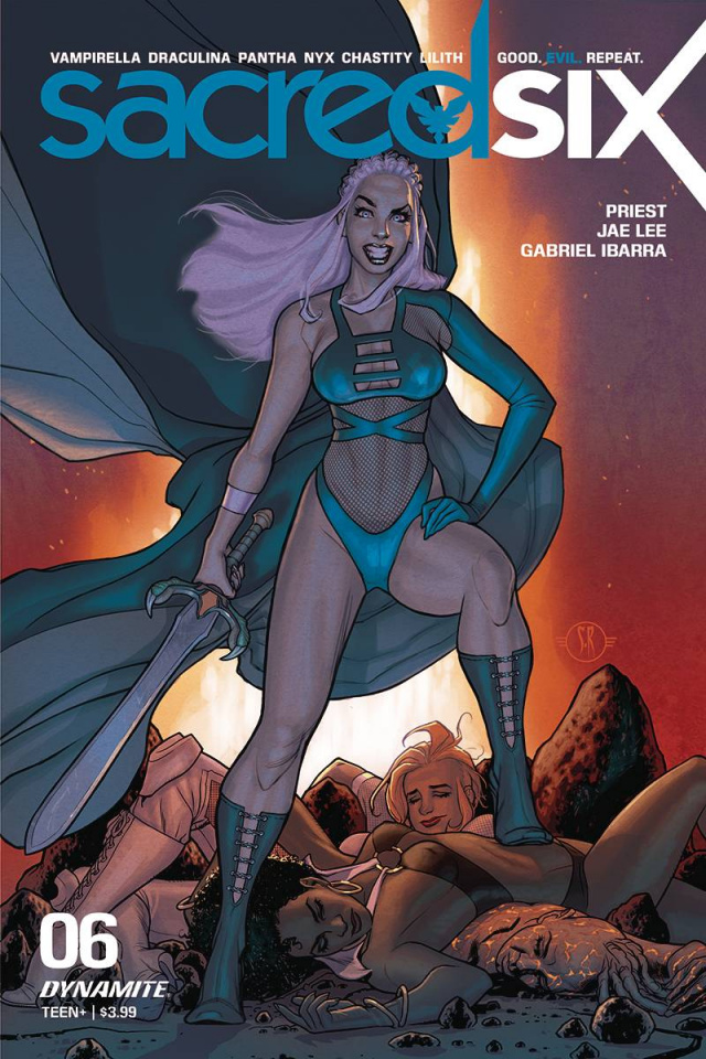 Sacred Six #6 (Roux Cover)