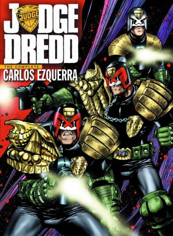 Judge Dredd: The Complete Carlos Ezquerra Vol. 1