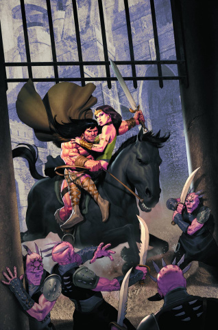 Conan: The People of the Black Circle #4