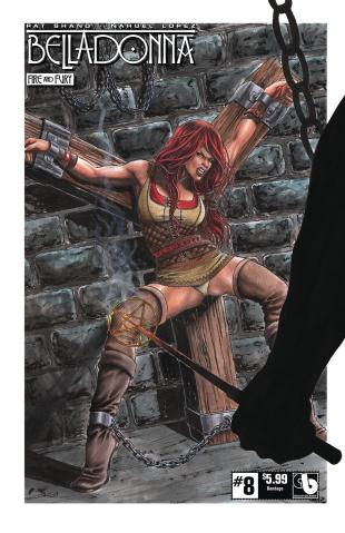 Belladonna: Fire and Fury #8 (Bondage Cover)