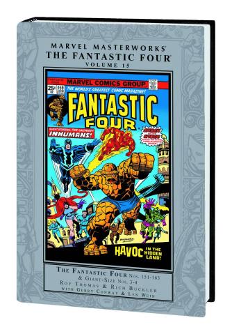 Fantastic Four Vol. 15 (Marvel Masterworks)