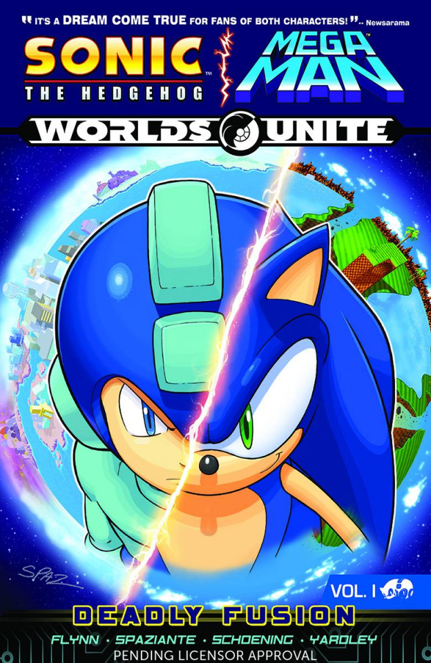 Sonic the Hedgehog / Mega Man: Worlds Unite Vol. 1: Deadly Fusion