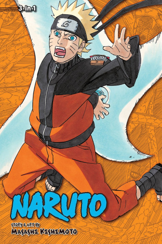 Naruto Vol. 19 (3-in-1 Edition)