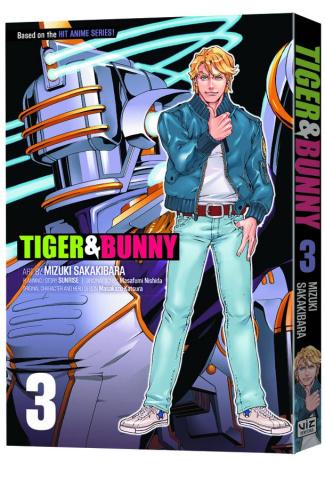 Tiger & Bunny Vol. 3