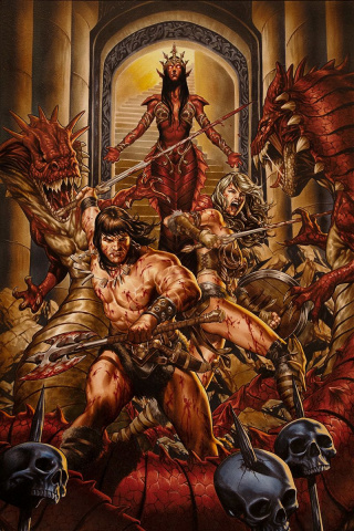 Conan the Barbarian #2 (Brooks Cover)