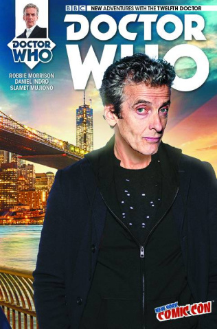 Doctor Who: New Adventures with the Twelfth Doctor, Year Two #13 (NYCC Cover)