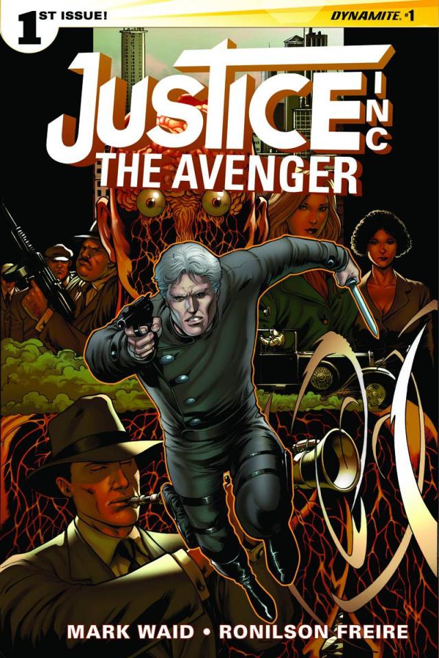 Justice Inc.: The Avenger #1 (10 Copy Kitson Unique Cover)