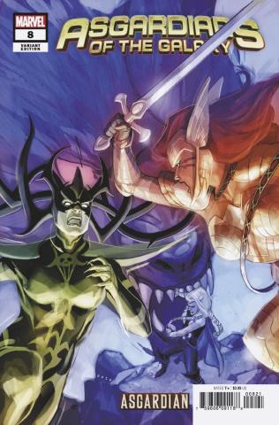 Asgardians of the Galaxy #8 (Noto Asgardian Cover)